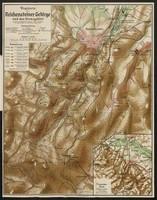 Wegekarte für das Reichensteiner Gebirge und das Grenzgebiet