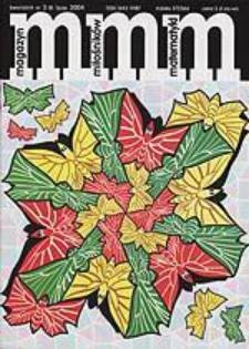 MMM Magazyn Miłośników Matematyki 2004 Nr 3 (8)