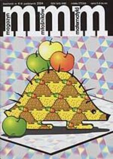 MMM Magazyn Miłośników Matematyki 2004 Nr 4 (9)
