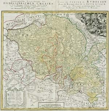 Geographische Verzeichnung des Budissinischen Creises in dem Marggrafthum Ober Lausitz [...]