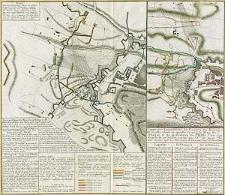 Kriegs-Expedit. Karte in Böhmen III Blat in welcher die Belagerung Prag A[nno] 1742 von den 28 Jul. bis 13.7 br. zuversichtlich vorgestellet wird