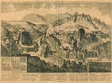 Abbildung des sehr heissen warmenbadts von Kayser Carolo quarto A[nno] 1309 erfunden: wie es anjetzo A[nno] 1652 mit 153 absonderlichen Badtstüblein erbauet inn der Burgere Heüser zubefinden darinnen Mann thut baden