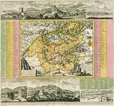 Geographischer Entwurff der Stadt und Gegend des Welt berühmten Kayser Carlsbades in Königreich Böhmen [...]