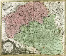 Marchionatus Moraviae Circuli Znoymensis et Iglaviensis quos mandato caesareo accurate emensus hac mappa delineatos exhibet Jo. Chr. Müller [...]