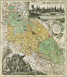 Das Königl. Preussische Souveraine Herzogthum Schlesien, nach der jetzigen Einteilung in die 3 Ober Aemter eingetheilet, und in einer General=und 15 Special Carten vorgestellet. 1747