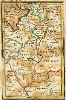 Kriegs-Karte von Schlesien 1741