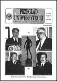 Przegląd Uniwersytecki (Wrocław) R.7 Nr 6 (63) czerwiec 2001