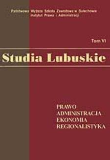 Pozycja ustrojowa Prezesa Narodowego Banku Polskiego - zagadnienia wybrane