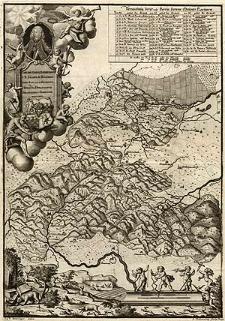 [Mapa terenu Książa i graniczących z nim majątków okolicznych]