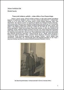 Nauczyciel, żołnierz, polityk..., różne oblicza Jana Zamorskiego