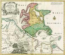 Insulae et Principatus Rugiae cum vicinis Pomeraniae littoribus nova tabula