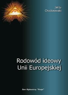 Rodowód ideowy Unii Europejskiej