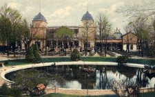 Zoologischer Garten, Breslau. Saalbau und Konzertplatz