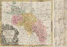 Carte du Diocese de Breslav avec ses IV. Archidiaconats, subdivisés en ses Cercles Archipresbyteriales