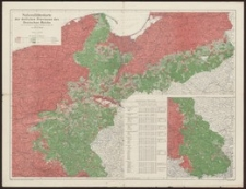 Nationalitätenkarte der östlichen Provinzen des Deutschen Reiches nach dem Ergebnissen der amtlichen Volkszählung vom Jahre 1910 entworfen von Ing. Jakob Spett
