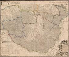 Mappa novissima. Regnorum Hungariae, Croatiae, Sclavoniae nec non Magni Principatus Transylvaniae [...]