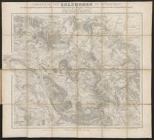 Karte der Umgegend von Salzbrunn, Altwasser, Charlotenbrunn u. Fürstenstein