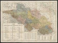 Karte des Oberlandesgerichtsbezirks Breslau