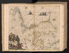 Daniae, Frisiae, Groningae et Orientalis Frisiae Littora