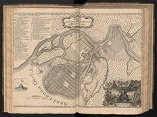 Grundriss der Festung Statt und Situation St. Petersburg.