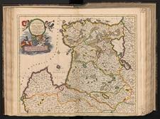Ducatuum Livoniae et Curlandiae novissima tabula in quibus sunt Estonia, Litlandia et aliae minores provinciae.