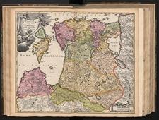 Ducatuum Livoniae et Curlandiae cum vicinis Insulis Nova Exhibitio Geographica editore Ioh. Baptista Homanno.