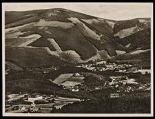 Riesengebirge - Ober-Krummhübel mit Wolfshau und Haus Brandenburg