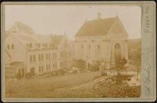 Klasztor w Porębie w latach: 1884-1905/06.
