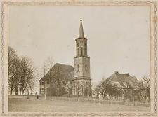 [Żeliszów, teren wokół kościoła ewang.: cmentarz, ogród i dom parafialny]