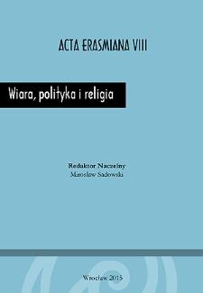 Wiara, polityka i religia