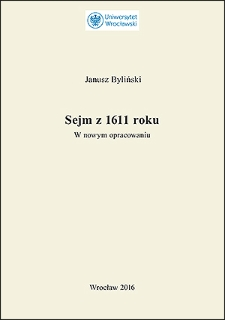 Sejm z 1611 roku : w nowym opracowaniu