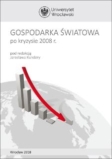 Gospodarka światowa po kryzysie 2008 r.
