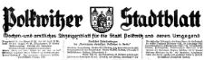 Polkwitzer Stadtblatt. Wochen und amtliches Anzeigenblatt für die Stadt Polkwitz und deren Umgegend 1933-11-24,Jg. 51 Nr 94