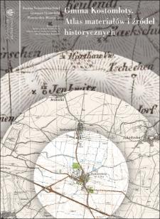 Kostomłoty commune. Atlas of historical sources