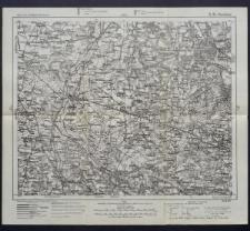 Karte des westlichen Russlands 1:100 000 - D 34. Ozorków