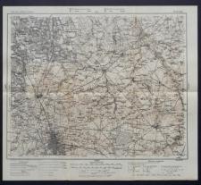 Karte des westlichen Russlands 1:100 000 - E 34. Łódź