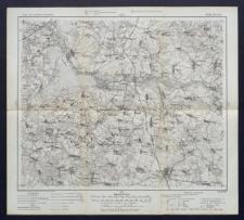 Karte des westlichen Russlands 1:100 000 - M 30. Bielsk