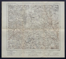 Karte des westlichen Russlands 1:100 000 - P 20. Wiłkomierz