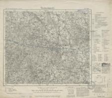 Karte des Deutschen Reiches 1:100 000 - 74. Pr. Eylau