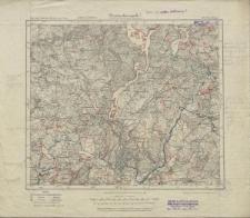 Karte des Deutschen Reiches 1:100 000 - 165. Dtsch. Eylau