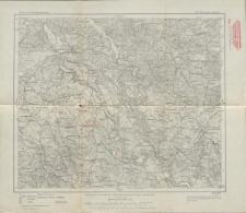 Karte des Deutschen Reiches 1:100 000 - 166. Osterode in Ost-Pr.