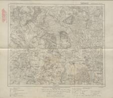Karte des Deutschen Reiches 1:100 000 - 199. Neidenburg-Janowo