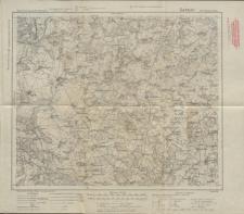 Karte des Deutschen Reiches 1:100 000 - 202. Gehsen-Kolno