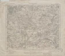 Karte des Deutschen Reiches 1:100 000 - 251. Wongrowitz