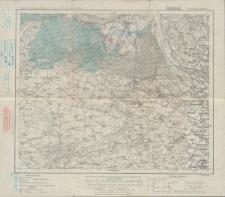 Karte des Deutschen Reiches 1:100 000 - 254. Argenau-Służewo
