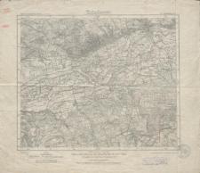 Karte des Deutschen Reiches 1:100 000 - 272. Landsberg a.d. W.
