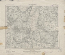 Karte des Deutschen Reiches 1:100 000 - 296. Frankfurt a./O.