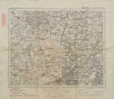 Karte des Deutschen Reiches 1:100 000 - 351. Sobotka-Kalisz