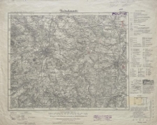 Karte des Deutschen Reiches 1:100 000 - 420. Görlitz