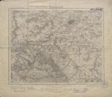 Karte des Deutschen Reiches 1:100 000 - 422. Liegnitz
